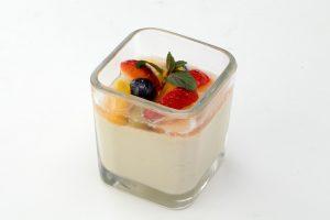 グリルハーベスター 大崎 メニュー 豆乳クリームのパンナコッタ